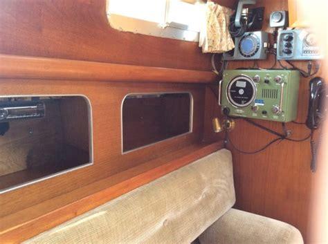 berthon motor sailer wooden sailing yacht  sale