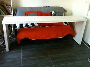 Table De Lit Ikea : table malm blanche petites annonces ikea by ikeaddict ~ Teatrodelosmanantiales.com Idées de Décoration