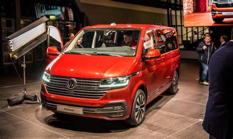 vw t6 facelift sitzprobe im neuen vw t6 1 bulli facelift mib3 system und