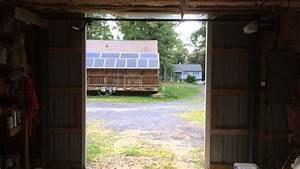 automatic opening barn door openers youtube With automatic barn door opener