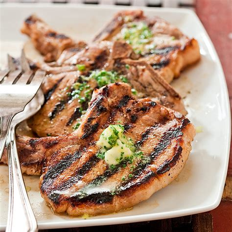 Peach, olive oil, olive oil, red wine vinegar, yellow onion, kosher salt and 4 more. Grilled Thin-Cut Pork Chops Recipe - Cook's Country