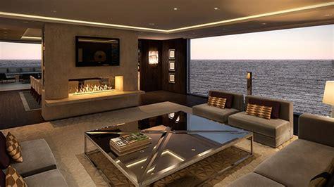 luxury yacht interior  lawson robb studio luxury yachts