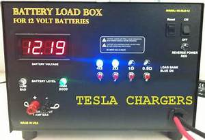 12 Volt Battery Chart Tesla Chargers Products