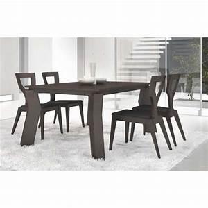 Table Sejour Design : table de s jour design rectangulaire avec rallonge opium ~ Teatrodelosmanantiales.com Idées de Décoration