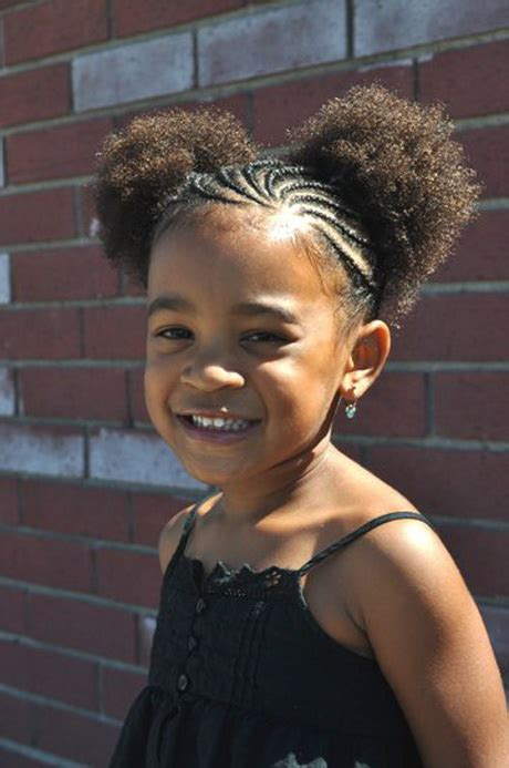 hairstyles  black kids  short hair