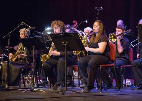 times  wastin big band spring concert central wyoming