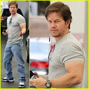 mark wahlbergs biceps  unbelievably huge mark