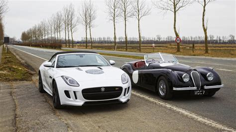 How Good Does A Jaguar F-type Look Next To Its Classic