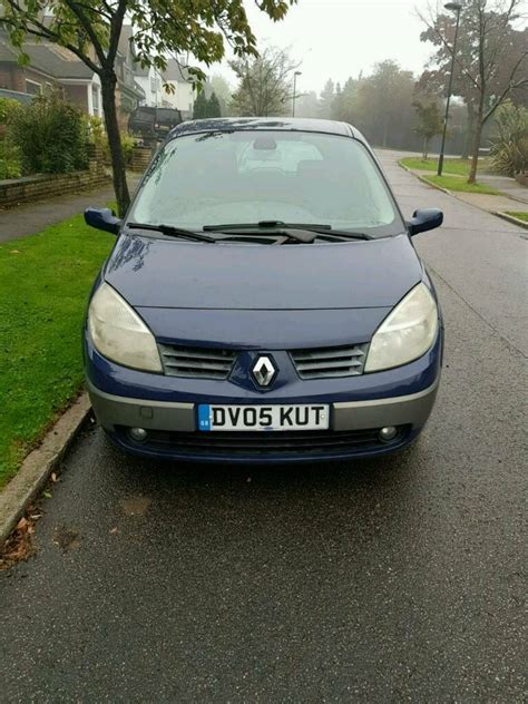 renault scenic mpv 2005 mk 2 1 5dci dynamique 5dr in renault scenic mpv 2005 mk 2 1 5dci dynamique 5dr in barnet london gumtree