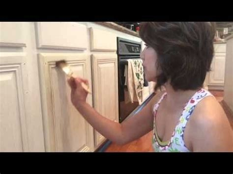 How To Paint And Distress Cabinets by Howard Kitchen Makeover How To Paint And Distress