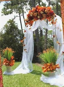 Dcoration Mariage Automne Pour Une Journe Magique