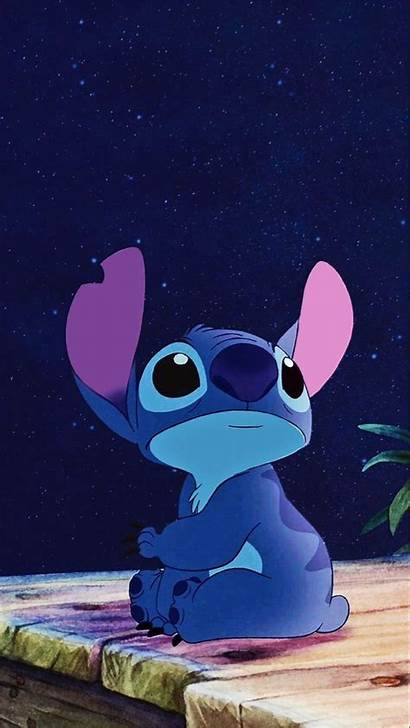 Stitch Disney Wallpapers Cartoon Iphone