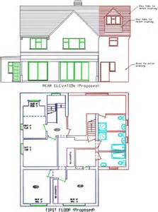 kitchen extension plans ideas extension plans and drawings planning2exten co uk dorking surrey