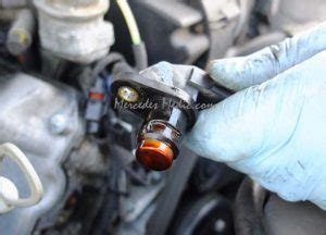 mercedes camshaft position sensor  easy fix