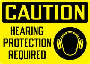 Osha Stands For by Personal Protection Sign Caution Hearing Protection