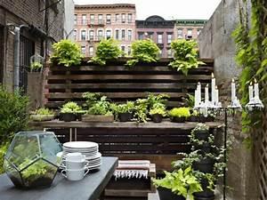 balkon bepflanzen 60 originelle ideen With französischer balkon mit garten kübel bepflanzen