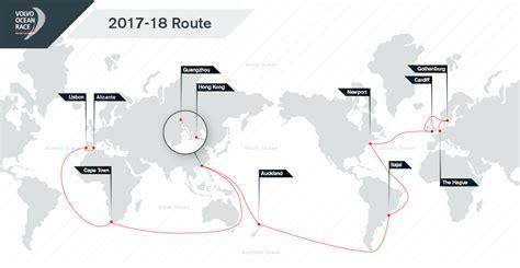 volvo ocean race announces host cities  route