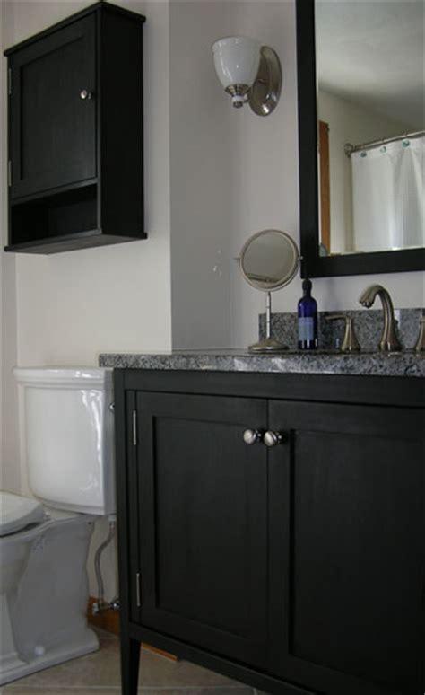 shaker style bathroom vanity   doors