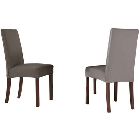 Walmart Dining Room Chair Seat Covers by Sure Fit Stretch Pinstripe Dining Room Chair