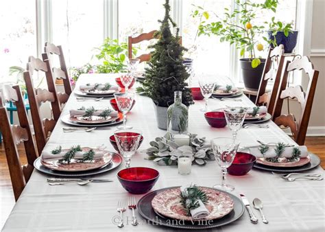 christmas table decorations  inspire  holiday home