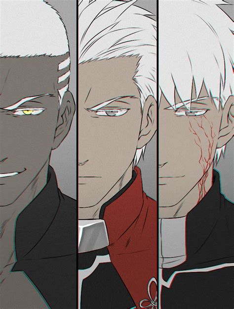 archer emiya alter fategrand order zerochan anime