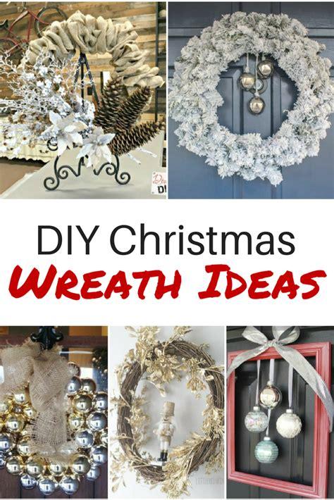diy christmas wreath ideas youll love diva  diy