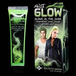 Glow in the Dark Temporary Neon Hair Colour