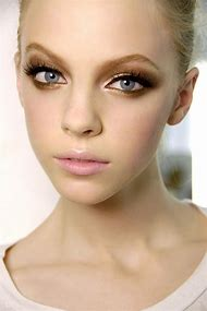 Beautiful Gold Eye Makeup