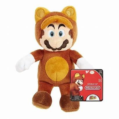 Mario Plush Nintendo Tanooki Bros Bear