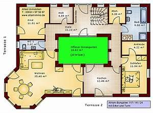 Atrium Bungalow Grundrisse : atrium bungalow u form ihr traumhaus ideen ~ Bigdaddyawards.com Haus und Dekorationen