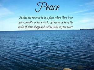 Weekend Inspiration ~ Inner Peace | From the Desk of MarDrag