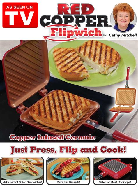 red copper flipwich carolwrightgiftscom