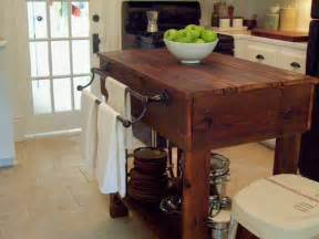 Antique Kitchen Island Table Our Vintage Home How To Build A Rustic Kitchen Table Island