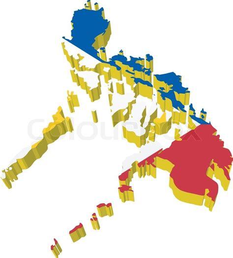 vectors  map  philippines stock vector colourbox
