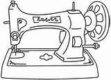 Sewing Machine Drawing Embroidery Pages Machines Coloring Antique Designs Patterns Urbanthreads Sketch Sew Printable Stitchery Pattern Template Urban Threads Google sketch template
