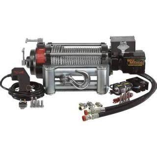 braden 63279bwn hydraulic winch motor brake valve assembly