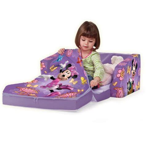 Mickey Mouse Flip Open Sofa With Slumber by Disney Baby Toys And Kid On