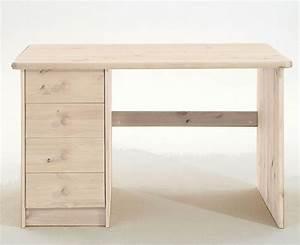 Wäschetruhe Holz Weiß : schreibtisch 120x75x68cm 4 schubladen kiefer massiv wei lasiert ~ Indierocktalk.com Haus und Dekorationen
