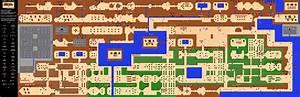 The Legend Of Zelda Overworld Map PNG Neoseeker