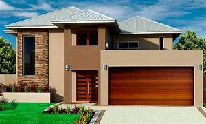 Beautiful Double Storey Houses House Plan