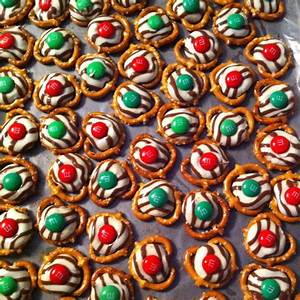 Christmas candy & super easy to make! Melt Hershey's ...