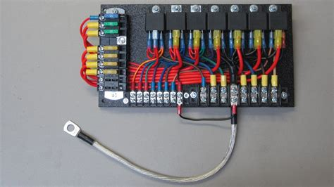 Car Electrical Wiring by Custom Relay Panels Ce Auto Electric Supply Sprinter