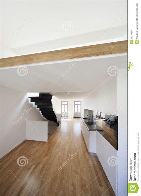 Schöne Moderne Wohnung, Loft Duplex Stockbilder Bild