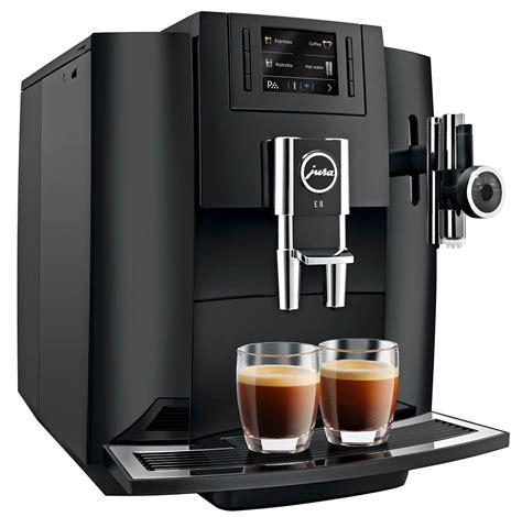 Jura 15070 e6 automatic coffee center, platinum, promotional bundle. Jura E8 Black   One-Touch Espresso Machine   1st in Coffee