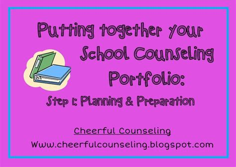 17 best images about counseling portfolio ideas on