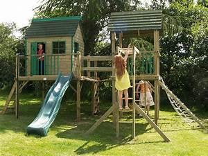 Aire De Jeux Pour Jardin : comment choisir une aire de jeux pour enfants aire de ~ Premium-room.com Idées de Décoration