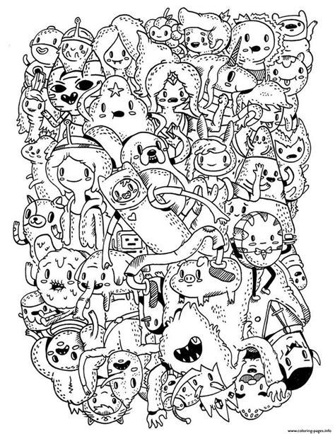 world of color times adventure time s for kids1bd7 coloring pages printable