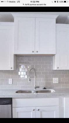 kitchen cabinets with backsplash smoke glass subway tile kitchen ideas 8563