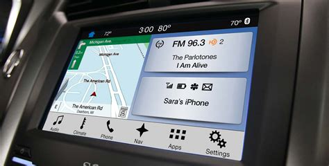 ford sync 3 navigation ford sync 3 simplifies the interface again ditches microsoft for blackberry s qnx os