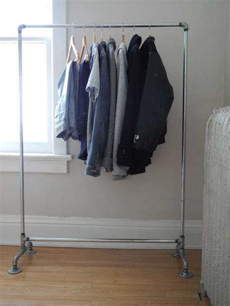 pipe clothing rack diy projects crafts pipe rack and plumbing pipe